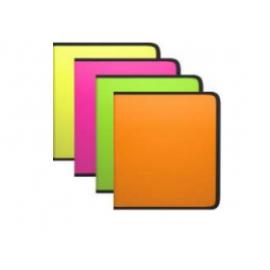 Plastikinis dėklas su užtrauktuku GLANCE VIVID A4, 3 skirtingos spalvos