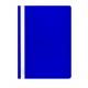 Segtuvėlis plast. su sk.virš. A4, mėlynos spalvos