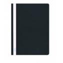 Plastikinis segtuvėlis skaidriu viršeliu A4+, juodos sp.