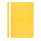 Plastikinis segtuvėlis skaidriu viršeliu A4+, geltonos sp.