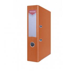 Segtuvas OFFICE, A4, 75mm, oranžinės spalvos