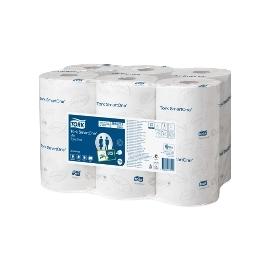 Tualetinis popierius TORK SmartOne T9, 111m, 620 lapelių, 2 sluoksniai