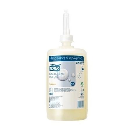 Skystas muilas TORK Premium Extra hygiene HD S1, rankoms, 1l