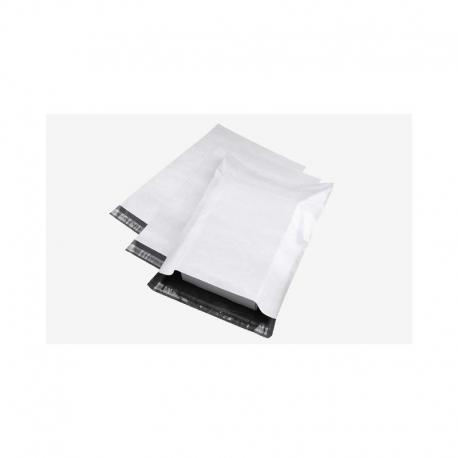 Kurjerinis (plastikinis) vokas, matmenys 190x250mm, 60mkr, baltos spalvos