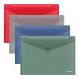 Plastikinis vokas su spaustuku GLOSSY CLASSIC, ErichKrause, A4, 160 mkr, 4 sp.