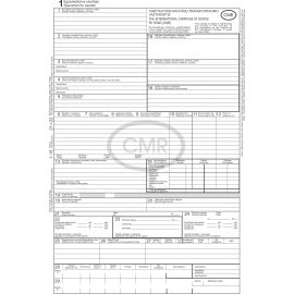 CMR blankai A4/4sl. 10kompl. LT-EN
