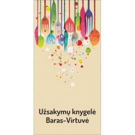 Užsakymų knygelė BARAS-VIRTUVĖ