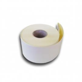 Lipni ištisinė etiketė svarstyklėms, 58mmx46m/40mm, Thermal Eco, baltos sp.