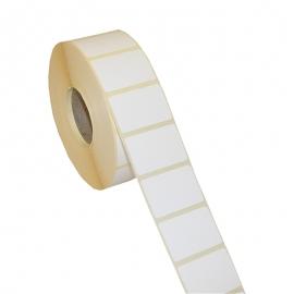 Lipnios etiketės, 1-40x25/40-1000 etik., Thermal Eco, baltos sp.