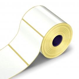 Lipnios etiketės, 1-100x150/40-350 etik., Semi Gloss, baltos sp.