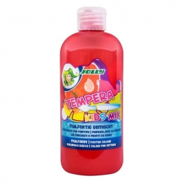 Tempera KIDS MIX Jolly, 500 ml, raudonos spalvos