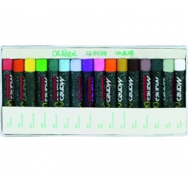 Aliejinės kreidelės, Maries, 16 spalvų