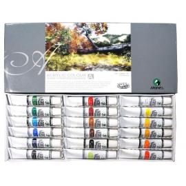 Akrilinių dažų rinkinys, Maries, 18 spalvų