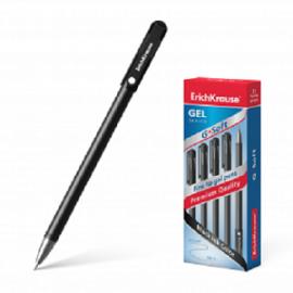Gelinis rašiklis G-SOFT, 0,38mm, juodos sp.