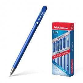 Gelinis rašiklis G-SOFT, 0,38mm, mėlynos sp.