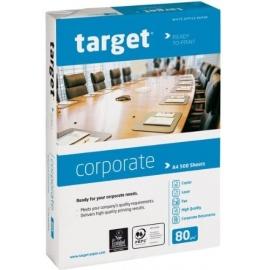 Biuro kopijavimo popierius TARGET CORPORATE, A3, 80gsm, 500 lapų