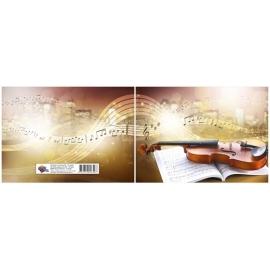 Natų sąsiuvinis, A5, 10 lapų, 80gsm, horizontalus