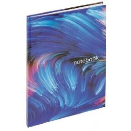 Sąsiuvinis kietu viršeliu su abėcėle NOTEBOOK, Grand, A4, 96 lapai, langeliais