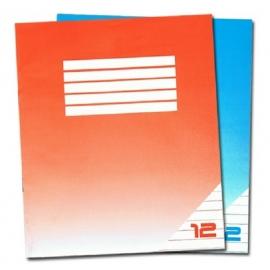 Sąsiuvinis, A5, linija, 12 lapų, 70gsm