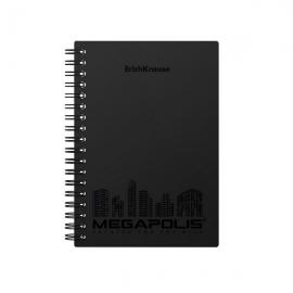 Bloknotas MEGAPOLIS, A6 formatas, 80 lapų