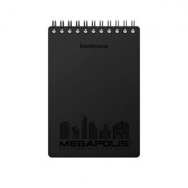 Bloknotas MEGAPOLIS, A6 80 lapų