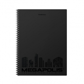 Bloknotas MEGAPOLIS A4, 80 lapų