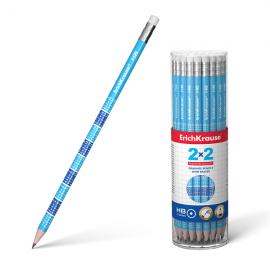 Grafitinis pieštukas 2x2 HB, ErichKrause