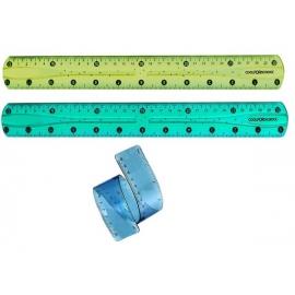 Lankstoma liniuotė, nelūžtanti Flex, 30 cm.