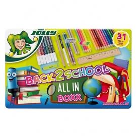 Rinkinys piešimui Jolly 36 sp. BEST-OF BOXX (flomasteriai ir pieštukai)