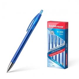 Automatinis gelinis rašiklis R-301 ORIGINAL GEL MATIC, ErichKrause, storis 0.5mm, mėlynos sp.