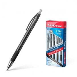 Automatinis gelinis rašiklis R-301 ORIGINAL GEL MATIC&GRIP, ErichKrause, storis 0.5mm, juodos sp.