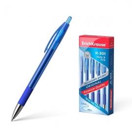 Automatinis gelinis rašiklis R-301 ORIGINAL GEL MATIC&GRIP, ErichKrause, storis 0.5mm, mėlynos sp.