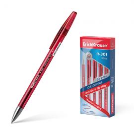 Gelinis rašiklis R-301 ORIGINAL, ErichKrause, storis 0.5mm, raudonos sp.