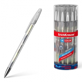 Gelinis rašiklis FLORA, ErichKrause, storis 0.5mm, mėlynos sp.