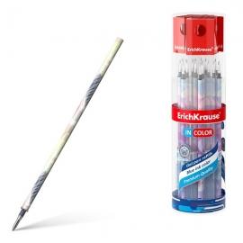 Šerdelė geliniams rašikliams FLORA, ErichKrause, storis 0.5mm, mėlynos sp.