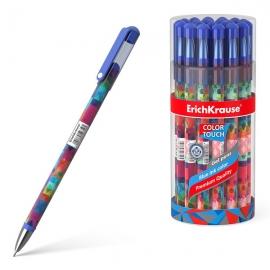 Gelinis rašiklis PATCHWORK, ErichKrause, storis 0.38mm, mėlynos sp.