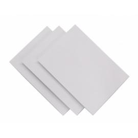 Baltas kartonas A4, 10 lapų, ABC Jums