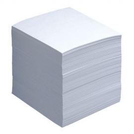 Lapeliai užrašams 90x90, balti, plėvelėje, 500 vnt.