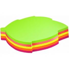 Lipnūs indeksai-žymekliai 12x44mm, 5 neoninių spalvų, 100 lapelių, ErichKrause