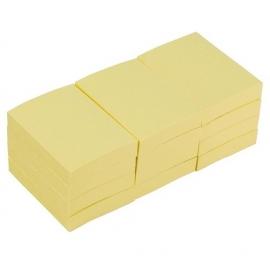 Lipnūs lapeliai užrašams 653, Eagle, 40x50mm, geltonos sp., pakuotė-2vnt.