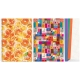 Bloknotas COLOUR, A4, 80 lapų, langeliais, 70gsm, spalvotomis kraštinėmis, su spirale šone