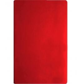Užrašų knyga VIVELLA, Optima, A5, 100 lapų, balti tušti lapai, raudonos spalvos