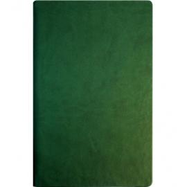 Užrašų knyga VIVELLA, Optima, A5, 100 lapų, balti tušti lapai, žalios spalvos kietas viršelis