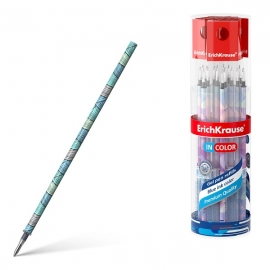 Šerdelė geliniams rašikliams EMERALD WAVE, ErichKrause, storis 0.5mm, mėlynos sp.