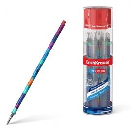 Šerdelė geliniams rašikliams PATCHWORK, ErichKrause, storis 0.5mm, mėlynos sp.