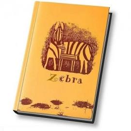 Užrašų knygelė ZEBRAS, Optima, A6