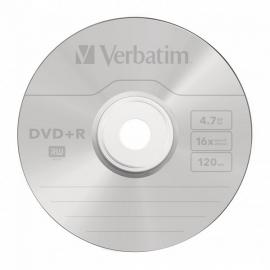 DVD+R diskas popieriniame vokelyje, Verbatim, 4,7GB, 16X, 120min, 1vnt.