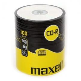CD-R diskai, Maxell, 700MB, 80min., 100vnt.
