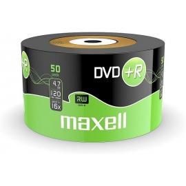 DVD+R diskai, Maxell, 4,7GB, 16X, 50vnt.