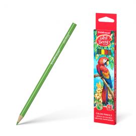 Spalvoti pieštukai ø3 mm., tribriauniai, 6 spalvų, Art Berry
